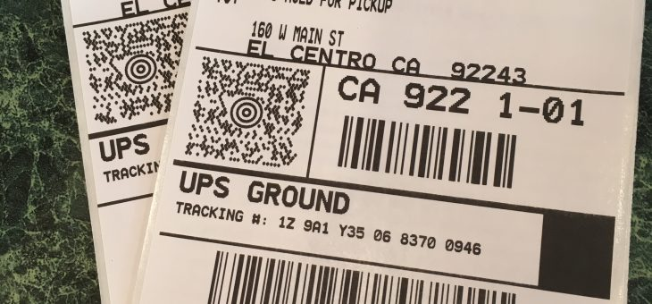 Updated Shipping Address